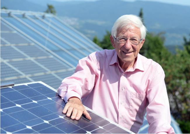 Dr. Franz Alt, Solaranlagen
