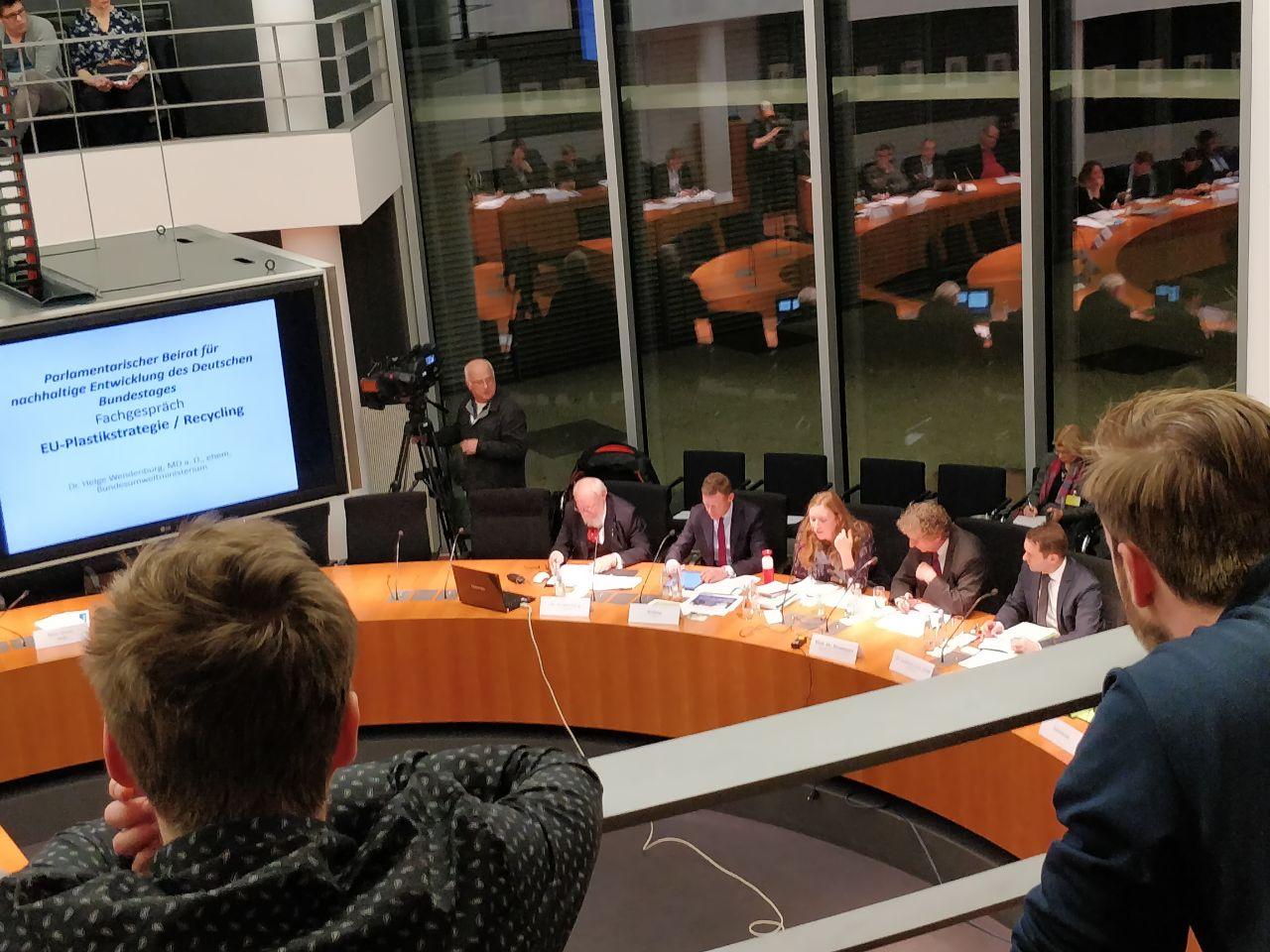 Öffentliches Expert*innengespräch des Parlamentarischen Beirats für nachhaltige Entwicklung