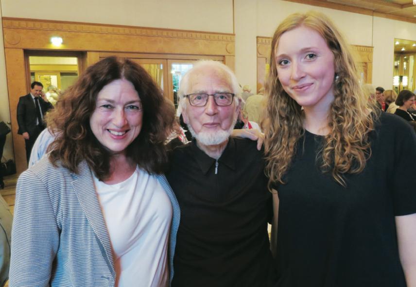 Dr. Monika Griefahn, Erhard Eppler und Nora Griefahn